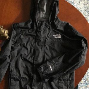 The North Face Hyvent kids waterproof rain jacket